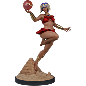 Street Fighter V - Menat Player 2 1/4 Scale Statue
