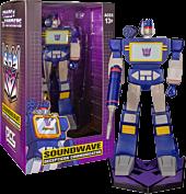 """Transformers - Soundwave 9"""" PVC Statue"""