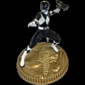 Mighty Morphin Power Rangers - Black Ranger 1/8th Scale PVC Statue