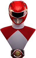 Power Rangers - Red Ranger Exclusive 1:1 Scale Life-Size Bust