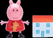 "Peppa Pig - Peppa Pig & House 2"" Action Figure | Popcultcha"