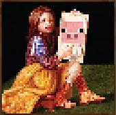 Minecraft - Pig Portrait Poster