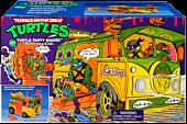 Teenage Mutant Ninja Turtles - Classic Original Party Van Action Figure Vehicle
