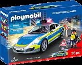 Porsche - 911 Carrera 4S Police Car Playmobil Vehicle Playset (70066)