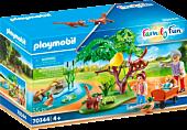 Playmobil: Family Fun - Red Panda Habitat Playset (70344)