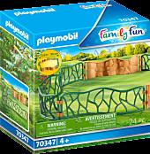 Playmobil: Family Fun - Zoo Enclosure Playset Accessory (70347)