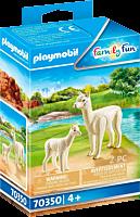 Playmobil: Family Fun - Alpaca with Baby Figure Set (70350)
