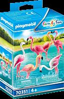 Playmobil: Family Fun - Flock of Flamingos Figure Set (70351)