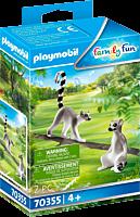 Playmobil: Family Fun - Lemurs Figure Set (70355)