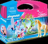 Playmobil: Fairies - Fairy Unicorn Carry Case Playset (70529)
