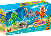 """Scooby-Doo - Adventure with the Ghost of Captain Cutler """"Ghost Diver"""" Playmobil Playset (70708)"""