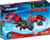 Dragons - Dragon Racing: Hiccup and Toothless Playmobil Playset (70727)