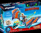 Dragons - Dragon Racing: Astrid and Stormfly Playmobil Playset (70728)