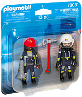Playmobil - Rescue Firefighter Figure 2-Pack (70081)