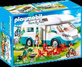 Playmobil: Family Fun - Family Camper Van Playset (70088)