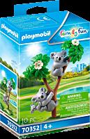 Playmobil: Family Fun - Koalas with Baby Figure Set (70352)