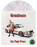 Grindhouse - Sex Punk Power Deluxe 180 Gram LP Vinyl Record (Popcultcha Exclusive Clear with White Splatter Coloured Vinyl)