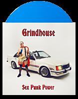 Grindhouse - Sex Punk Power LP Vinyl Record (Indie Exclusive Blue Coloured Vinyl)