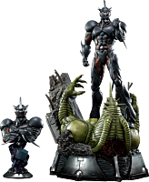 Guyver: The Bioboosted Armor - Guyver III Ultimate 1/4 Scale Statue and Bust (Set of 2)