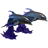 Injustice: Gods Among Us - Space Dolphins 1/3 Scale Statue (Set of 2)