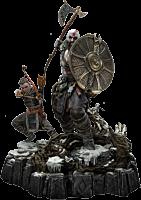 God of War (2018) - Kratos & Atreus Ivaldi's Deadly Mist Armour Set 1/4 Scale Statue