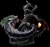 Batman - Batman Versus Joker Dragon Deluxe 1/3 Scale Statue
