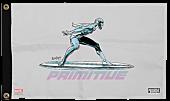 Marvel - Moebius x Primitive Silver Surfer Banner (One Size)