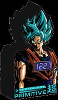 Dragon Ball Super - DBS x Primitive Goku Digital Desk Clock