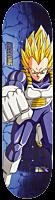 "Dragon Ball Z - DBZ x McClung Super Saiyan Vegeta 8.0"" Primitive Skateboard Deck (Deck Only)"