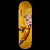 "Dragon Ball Z - DBZ x Rodriguez Super Saiyan Goku 8.0"" Primitive Skateboard Deck (Deck Only)"