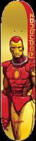 "Marvel - Marvel x Moebius Rodriguez Iron Man 8.125"" Primitive Skateboard Deck (Deck Only)"