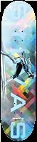 """Marvel - Marvel x Moebius Silvas Silver Surfer 8.38"""" Primitive Skateboard Deck (Deck Only)"""