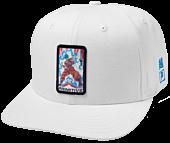 Dragon Ball Super - DBS x Primitive Champion Snapback White Hat (One Size)