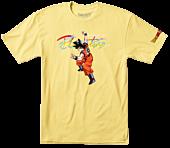 Dragon Ball Z - DBZ x Primitive Nuevo Goku T-Shirt Yellow