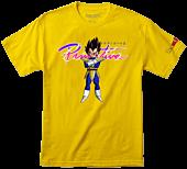 Dragon Ball Z - DBZ x Primitive Nuevo Vegeta T-Shirt Yellow