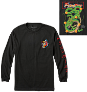 Dragon Ball Z - DBZ x Primitive Shenron Club Long Sleeve T-Shirt Black