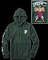 Dragon Ball Z - DBZ x Primitive Dirty Broly Sweatshirt Hoodie Dark Green