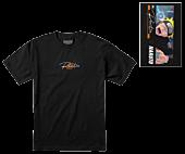 Naruto: Shippuden - Naruto x Primitive Combat T-Shirt Black