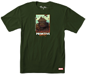 Marvel - Moebius x Primitive The Thing T-Shirt Green