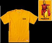 Marvel - Moebius x Primitive Iron Man T-Shirt Gold