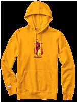 Marvel - Moebius x Primitive Iron Man Sweatshirt Hoodie Gold