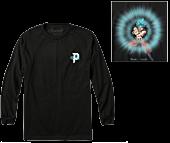 Dragon Ball Super - DBS x Primitive Energy Black Long Sleeve T-Shirt
