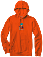Dragon Ball Super - DBS x Primitive Super Saiyan Goku Orange Sweatshirt Hoodie
