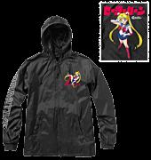 Sailor Moon - Sailor Moon x Primitive Guardian Black Windbreaker Jacket