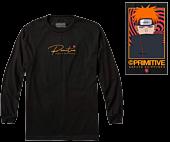 Naruto - Naruto x Primitive Know Pain Black Long Sleeve T-Shirt