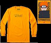 Naruto - Naruto x Primitive Know Pain Gold Long Sleeve T-Shirt