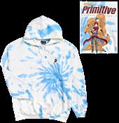 Naruto - Naruto x Primitive Gaara Washed Cream Sweatshirt Hoodie