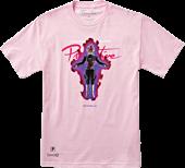 Dragon Ball Super - DBS x Primitive Black Rose Goku Nuevo Pink T-Shirt