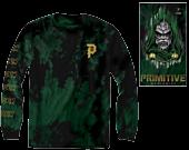Marvel - Marvel x Primitive Doctor Doom Washed Green Long Sleeve T-Shirt