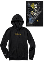 Marvel - Marvel x Primitive Wolverine Oversized Black Sweatshirt Hoodie